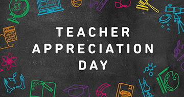 Show love for your Mentors on Teachers Appreciation Day.